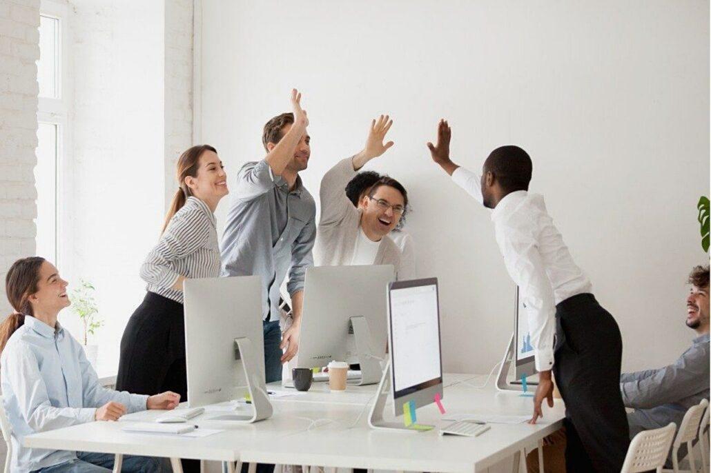 team, meeting, business